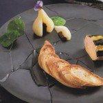 foie gras de canard en écailles de truffes