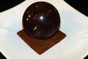 Sphère chocolat noisette