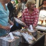 La vente du livre cuisine de marché