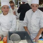 Réalisation du gâteau au beurre