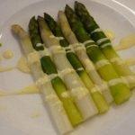 Asperges sauce Mousseline
